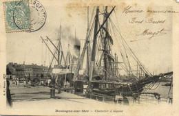 BOULOGNE Sur MER  Chalutier à Vapeur Pionnière RV - Boulogne Sur Mer