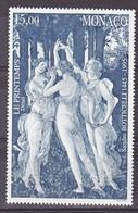 Monaco 2010 Botticelli 1995 Neuf ** TB  MNH Sin Charnela Faciale 2.3 - Ongebruikt