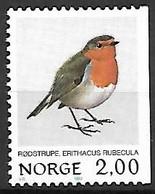 Norway - Norge - MNH ** 1982 :  European Robin  -  Erithacus Rubecula - Zangvogels