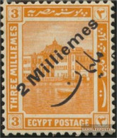 Egypt 54 (complete Issue) With Hinge 1915 Postage Stamp - 1915-1921 British Protectorate