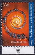 UNO NEW YORK 2000 Mi-Nr. 830 ** MNH - Ungebraucht
