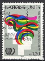 Nations Unies, Vereinte Nationen - Genf 1984. Mi.Nr. 126, Used O - Gebraucht