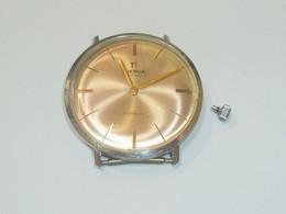 Vintage Authentic Pierce 17 Jewels Manuel Winding Watch (Not Working) - Orologi Antichi