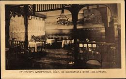 Köln Am Rhein, Deutsches Winzerhaus, Gr. Budengasse 4, Inh. J. Lefévre - Andere