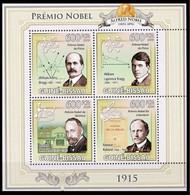 Guinée-Bissau Les Prix Nobel/De Nobelprijzen -Chimie/Chemie-Littérature/Literatuur-Physique/Natuurkunde - Romain Rolland - Fisica