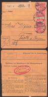 Leipzig-Plagwitz Paketkarte 1 M(2) Reichspostamt Berlin - Covers & Documents