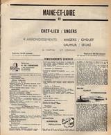 ANNUAIRE - 49 - Département Maine Et Loire - Année 1969 - édition Didot-Bottin - 170 Pages - Telefonbücher