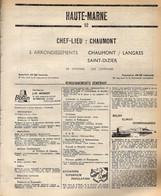 ANNUAIRE - 52 - Département Haute Marne - Année 1969 - édition Didot-Bottin - 86 Pages - Telefonbücher