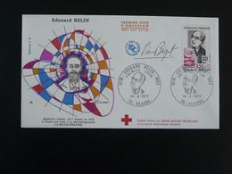 FDC Physicien Edouard Belin Signée Pierre Béquet Vesoul 70 Haute Saone 1972 - Fisica