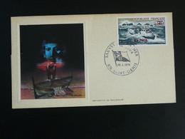 FDC Sauvetage En Mer Sea Rescue Safety Réunion FCA 1974 - Lettres & Documents