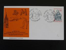 Lettre Cover 24h Des Neiges Ski De Fon Lievremont 25 Doubs 1984 - Briefe U. Dokumente