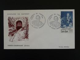 Lettre Cover Journée Du Timbre Vieux Charmont 25 Doubs 1984 - Briefe U. Dokumente