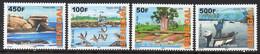 Senegal 1831/34 Oiseau , Pélican , Arbre Baobab , Pêche , Vache Zébu - Non Classificati