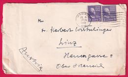 USA Brief Etwas Gebraucht, Gelaufen 1949 - 1941-60