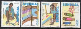 Senegal 1841/44 Tisserand , Tissus , Tissage Textile - Tessili