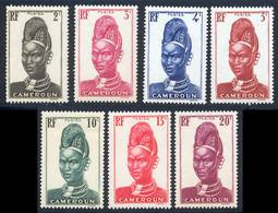 Cameroun 1939 Yvert 162 / 168 ** TB - Ongebruikt