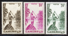 Cameroun 1939 Yvert 189 / 191 ** TB Bord De Feuille - Ongebruikt