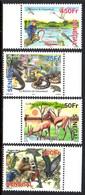 Senegal 1851/54 Serpent, Grenouille, Aigle, Martin-pêcheur, Champignon, Flamant Rose, Singe, Varan, Heron - Non Classificati