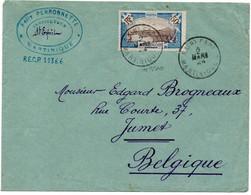 Martinique - Lettre - De Saint Esprit Vers Jumet Belgique - Via Fort De France - 1924- B31 - Briefe U. Dokumente