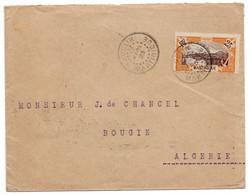 Martinique - Lettre - De Vauclin Vers Bougie Algerie - Via Fort De France Et Constantine - 1923 - B31 - Briefe U. Dokumente