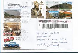 POR118 / PORTUGAL - Buntfrankatur 2021 - Lettere
