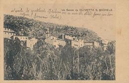 OLIVETTE S MICHELE - UN SALUTO DA OLIVETTA S MICHELE - Andere Steden