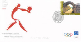 United Nations Vienna FDC 2004 Athens Olympic Games (LD39) - Zomer 2004: Athene