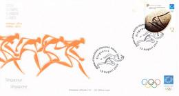 Singapore FDC 2004 Athens Olympic Games (LD39) - Zomer 2004: Athene