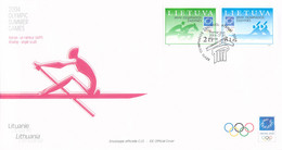 Lithuania FDC 2004 Athens Olympic Games (LD39) - Zomer 2004: Athene