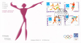 Ethiopia FDC 2004 Athens Olympic Games (LD39) - Zomer 2004: Athene
