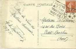 SAVOIE / HAUTE Dépt N° 74 = MEGEVE 1936 = Flamme DAGUIN ' ENSOLEILLE / HIVER ETE ' - Mechanical Postmarks (Other)