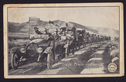 Truck Train In Mexico - Kavanaugh's War Postals - Patriotic OLD POSTCARD 1916 (see Sales Conditions) - Other Topics