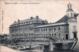 Belgique - Ninove En 1903 - Le Couvent Des Sacrés-Coeurs - Ninove