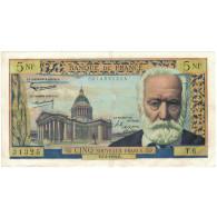 France, 5 Nouveaux Francs, 1959, 1959-03-05, TTB+, Fayette:56.01, KM:141a - 5 NF 1959-1965 ''Victor Hugo''