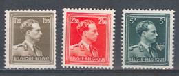 België Nr 1005-1007 X Cote €78,50 Perfect - 1936-1957 Open Collar