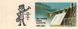 Tennessee Valley Authority 1983 [vgl. Oak Ridge National Laboratory Calutron Uran-Isotopentrennung] - Mit Zier-Allonge - Ungebraucht