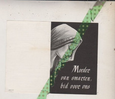 Marie Irma Roels-Schepens, Dikkelvenne 1879, Baaigem 1964 - Todesanzeige