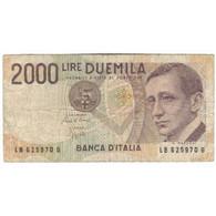 Billet, Italie, 2000 Lire, 1990-1992, Undated (1990-92), KM:115, B - 2000 Lire