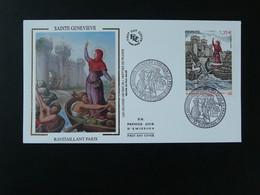 FDC Sainte Geneviève Ravitaillant Paris Moyen Age Medieval History 92 Nanterre 2012 - 2010-2019