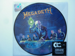 Megadeth 33Tours Vinyle Picture Disc Rust In Peace Back To Black - Non Classificati