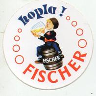 (bière)  Autocollant HOPLA FISHER  (PPP32288) - Stickers