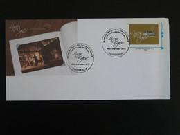 Lettre Cover Timbre Collector Livres En Vignes Fête Du Livre Vougeot 21 Cote D'Or 2011 - Collectors