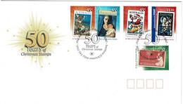 Australia 2007 Christmas Stamps - 50 Years FDC - Primo Giorno D'emissione (FDC)