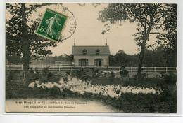 35 DINGE Fermiere Basse Cour 500 Volailles Blanches Le Haut Du Bois De Tanouarn 1912 Timb  D19 2019 - Other Municipalities