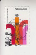 Verenigde Naties Genève Michel-cat.24 Gestempeld Dag Van De Wereldgezondheidsorganisatie WHO - Gebraucht