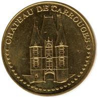 61-0599 - JETON TOURISTIQUE MDP - Château De Carrouges - Face Simple - 2015.5 - 2015