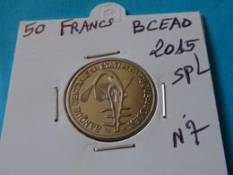 50  FRANCS  B.C.E.A.O  2015 Spl - Ref. N 7  ( 2 Photos ) - Elfenbeinküste
