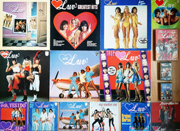 * LPs / Singles / Cassettes / DVD *  COLLECTION LUV' - Disco, Pop