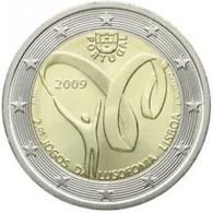 Portugal 2009    2 Euro Commemo   Lusofonia    UNC Uit De Rol  UNC Du Rouleaux  !! - Portugal