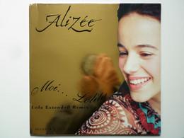 Alizee Maxi 45Tours Vinyle Moi... Lolita Pochette Or - Non Classificati